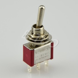 MTS-102/103R SPDT Toggle Switch