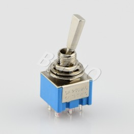 MTS-202/203-F1 Double Pole Toggle Switch