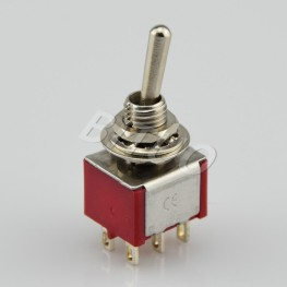 MTS-202/203R DPDT Toggle Switch