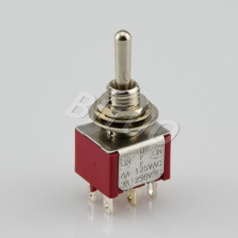 MTS-212/213/223R 3 Way Toggle Switch